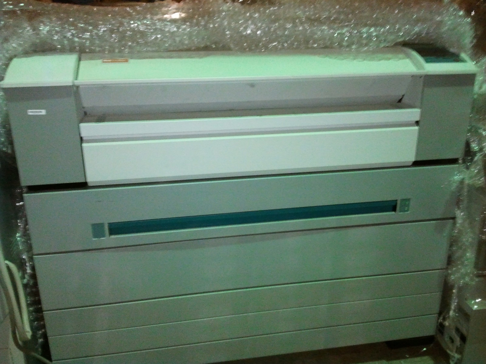 LOW 365k Meter OCE TDS600 Engineering Printer TDS 600 4 Paper Rolls Heavy Duty