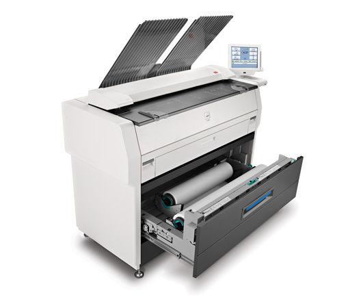 METER ONLY 15k! Kip 7100 Engineering Copier Printer Color Scanner