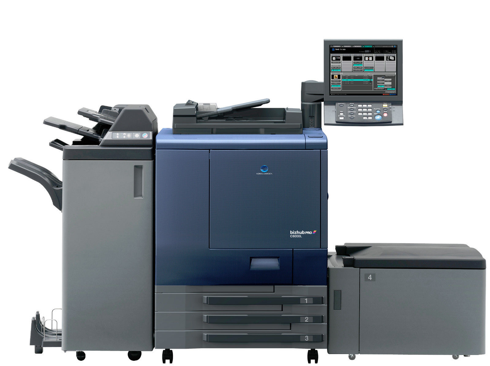Konica Minolta Bizhub PRO C6000 Digital Copier Printer PS: We buy used Equip.