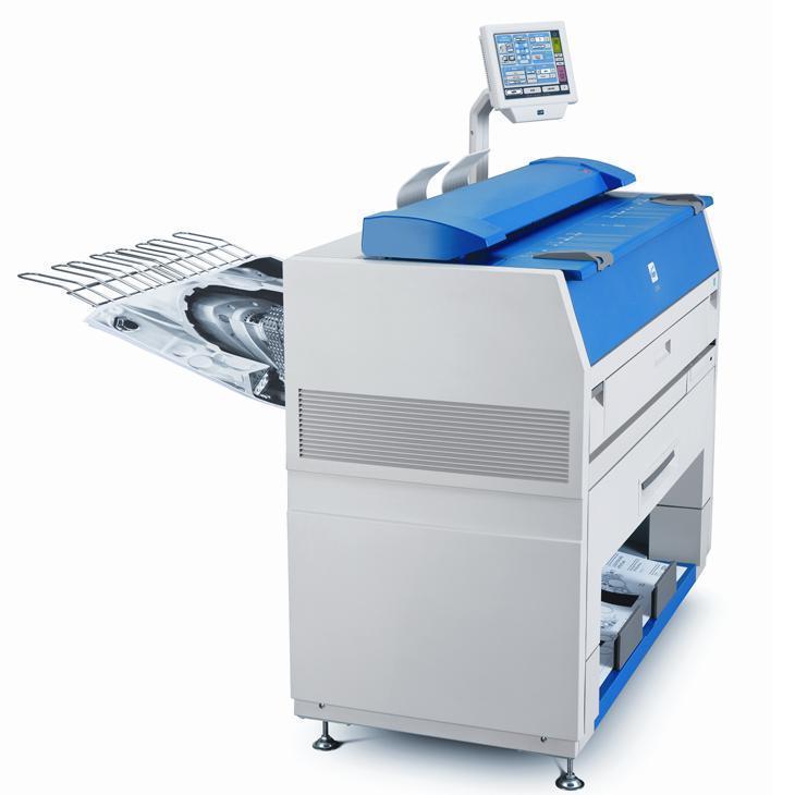 Very Low Meter Kip 3100 Engineering Copier with COLOR SCAN Printer Scanner