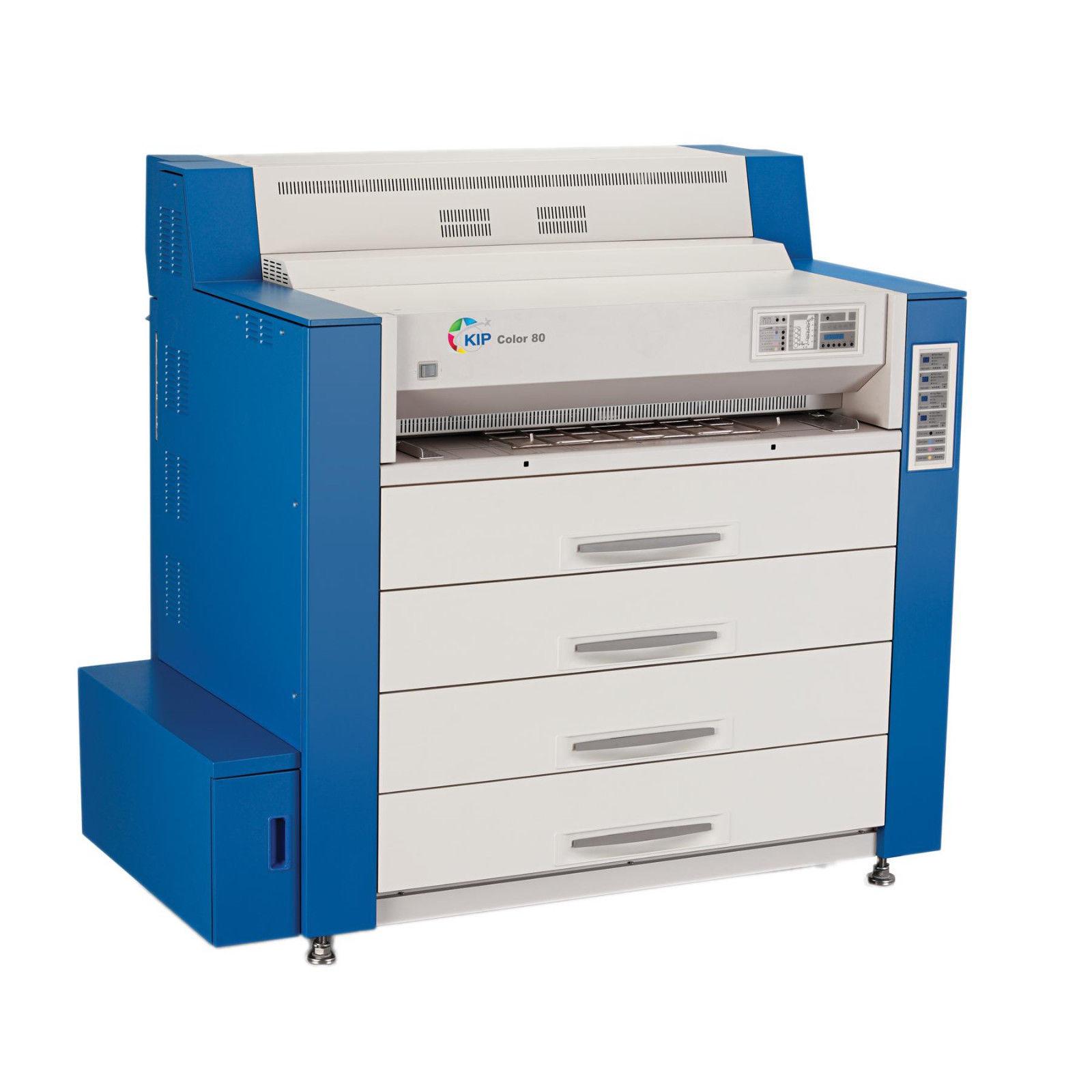 Kip Color 80 Wide Format High Speed Printer Copier PS: We buy used equipment