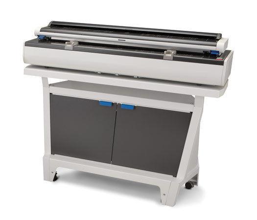 Kip Color 80 Konica Minolta Wide Format High Speed Printer Copier 2300 Scanner