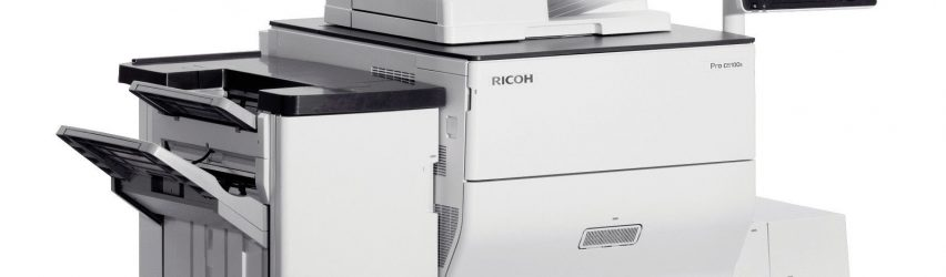 LOW COLOR METER Ricoh PRO C5510S Color Copier Printer PS: we buy used equipment