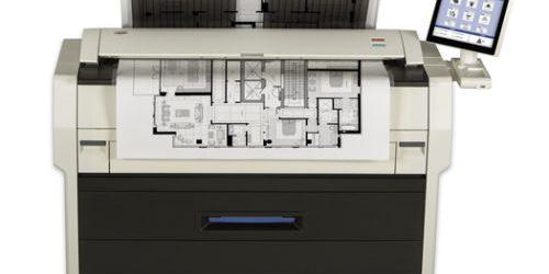 ONLY 3K meter!! Kip 7170 Engineering Printer Copier Plotter Replaces the 7100