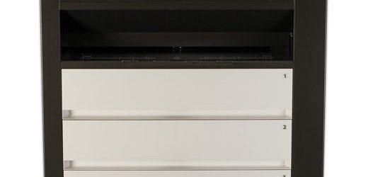 UNDER 4K meter! Kip C7800 COLOR Black White Engineering Printer w Stacker