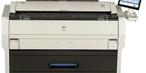 DEMO > ONLY 500 PRINTS!! Kip 7170 Engineering Copier Printer Plotter