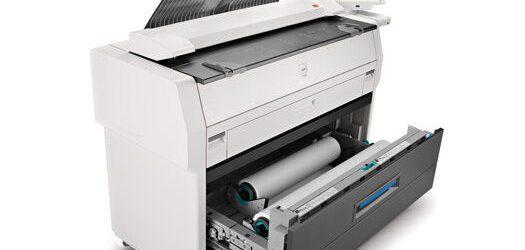 DEMO LOW meter ONLY 765 linear ft !! Kip 7170 Engineering Copier Printer