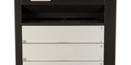 Kip C7800 COLOR Black White Engineering Printer w Stacker