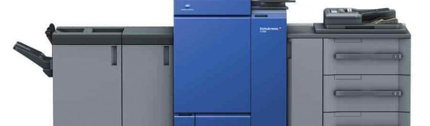 NEW DRUMS ETC Konica Minolta Bizhub PRESS C1100 Digital Printing Press Copier