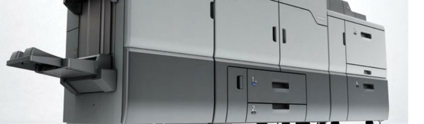 780k meter Ricoh PRO C7100S w scanner Color Color Digital Press Copier C7100X